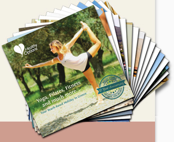 Healthy Options Brochure Stack