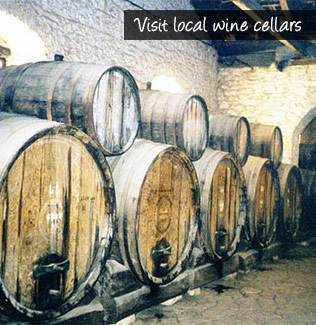 Visit local wine cellars